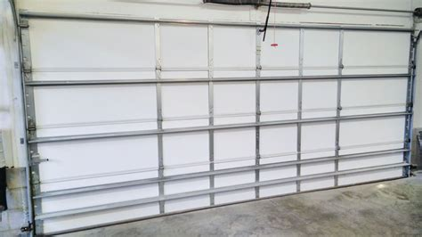 Metal Garage Door Insulation Installing Garage Door Insulation