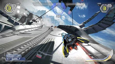 Kaset Ps4 Wipeout Omega Collection wipeout omega collection gameplay ps4 in 4k 1