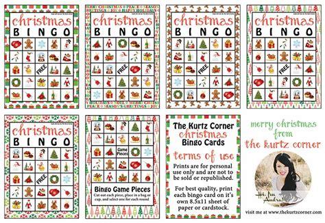 printable christmas bingo cards for adults christmas weekly post day 2 tenacious faith