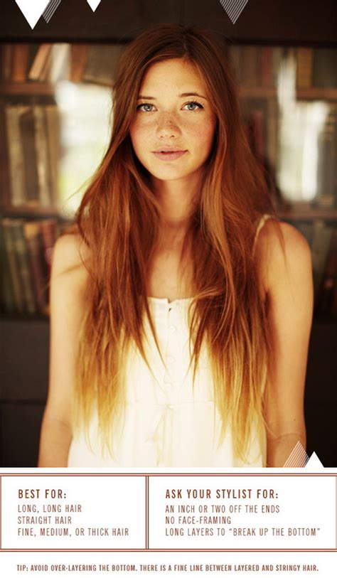 do long layers look good in thick slightly wavy hair good haircuts for long hair