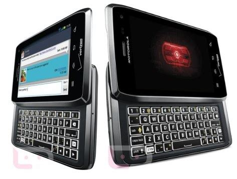 Hp Motorola Android Qwerty top best keyboard qwerty android phones 2012