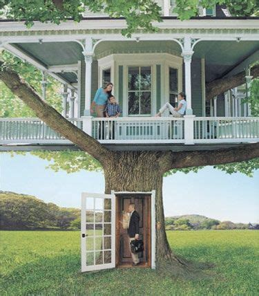 Tree Homes about cool tree houses on pinterest trees a tree and play houses