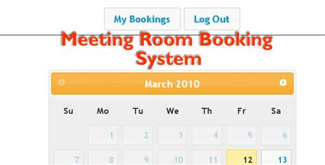 7 Best Booking Rental System Php Scripts Design Freebies Conference Room Booking Template