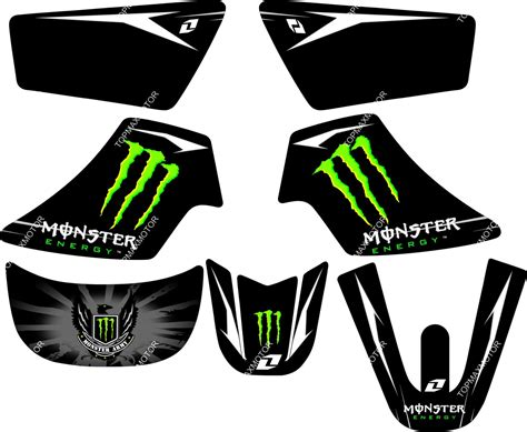 Sticker For Yamaha Pw50 by Monster Graphics Decal Stickers Yamaha Pw50 Pw 50 Ebay