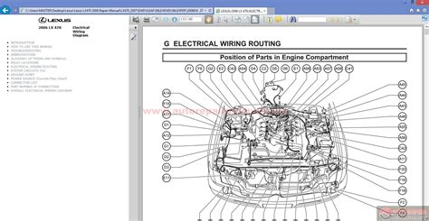 car engine manuals 2007 lexus lx parking system lexus lx470 2006 repair manual auto repair manual forum heavy equipment forums download