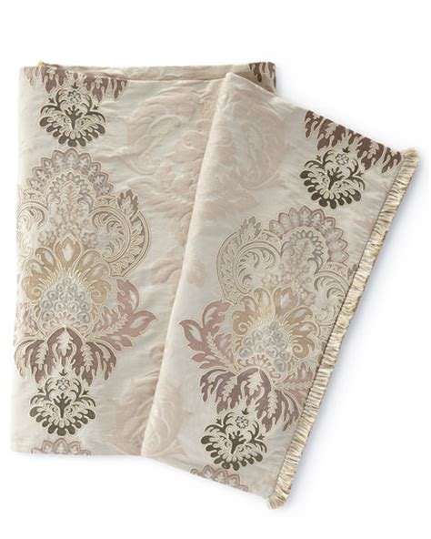 bed scarf king jane wilner designs king eliza embroidered bed scarf 30