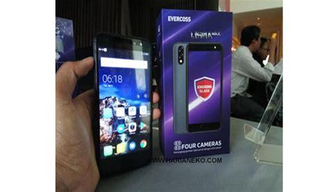 Evercoss Murah spesifikasi evercoss u50a max si smartphone murah rp 1 jutaan empat kamera