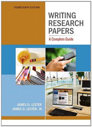 writing research papers a complete guide 9780205236411 writing research papers a complete guide by