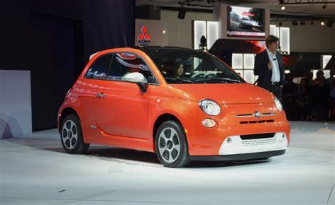 fiat 500e forum fiat 500e is orange white electric 2012 la auto show