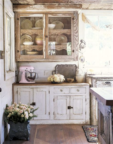 shabby chic kitchen cabinet 12 shabby chic kitchen ideas decor and furniture for