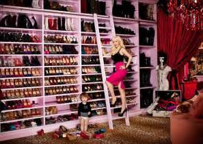 my big s closet pizza luvr celebrity shoe closets