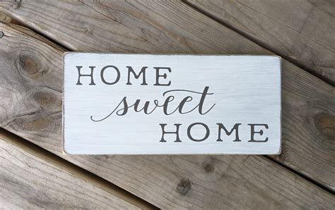 home sweet home home sweet home sign new home by ourrusticnest