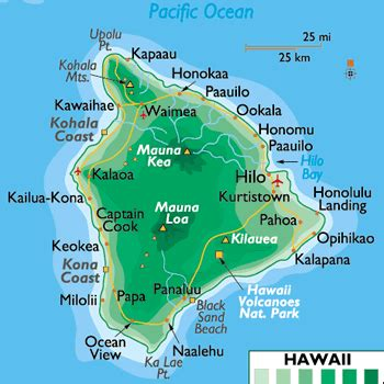 printable road map of big island hawaii big island hawaii map free printable maps