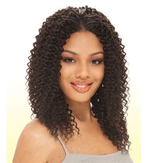 Black Hairstyles With Weave By Way by Water Weave Que By Milkyway Human Hair Blend Extension