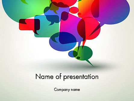 Live Chat Powerpoint Template Backgrounds 12895 Poweredtemplate Com Live Powerpoint Templates