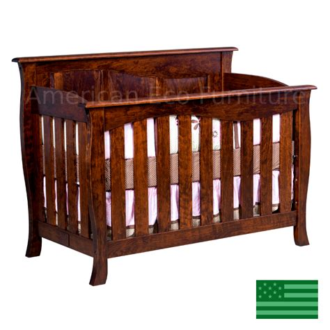American Made Crib by American Made Baby Cribs Amish Caspian 4 In 1