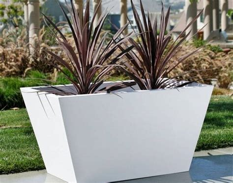 vasi per piante grandi vasi in resina vasi