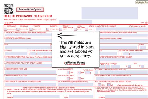 fillable cms 1500 template free hcfa 1500 claim form template hcfa 1500 fill and