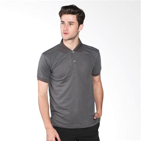 Vm Kaos Polo Shirt Ungu jual vm polo shirt kaos polos abu tua harga