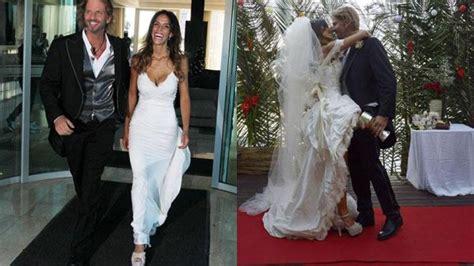 imagenes de vestidos de novias famosas argentinas las famosas y los vestidos de novia m 225 s destacados del