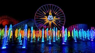 how is world of color world of color season of light is glowing into disney