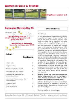 iban gls bank newsletter 5 171 in exile friends