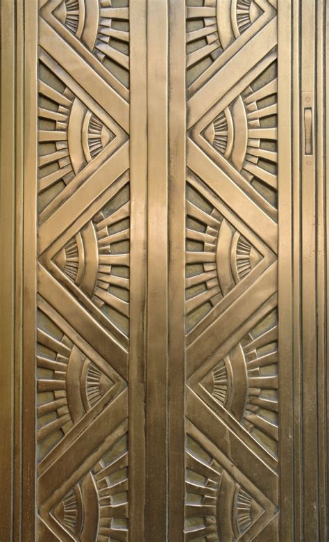 door pattern pattern art deco metal door computing library services