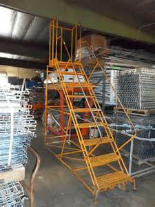home ladder steel stair cases and ladder all american rack company