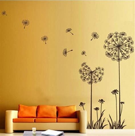 wall decor dandelion flower wall decoration wall decoration