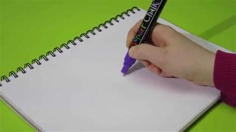 markers that only write on paper getting the ink started for your chalk liquid
