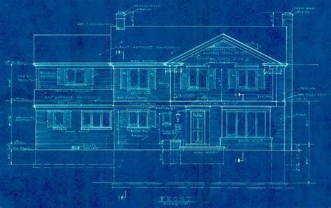 blue prints of houses blueprints 22376 fairmount