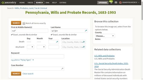Pennsylvania Probate Court Records Genea Musings Mining The Ancestry Probate Records