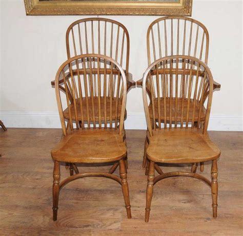 oak armchair 8 oak windsor kitchen dining chairs farmhouse chair