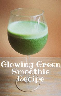 Detox Glowing Green Smoothie Recipe by Dr Oz Alpha Beta Hydroxy Peptide Vitamin C