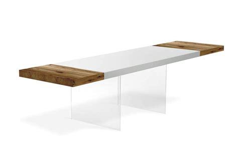 tavoli legno bianco un tavolo allungabile per accogliere gli ospiti lago design
