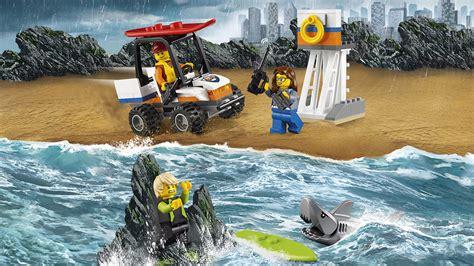 Dijamin Lego 60163 City Coast Guard Starter Set 60163 coast guard starter set lego 174 city products and sets lego city lego