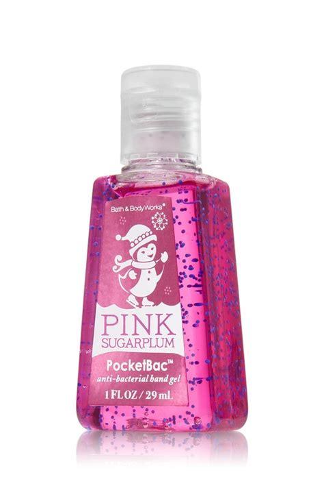 bath works pink sugarplum anti bacterial pocketbac 174 sanitizing gel