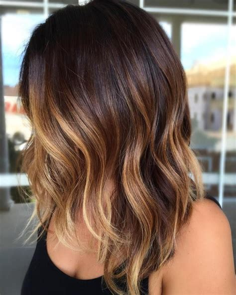 short dark hair balayage lob newhairstylesformen2014 com the 25 best ideas about brown balayage on pinterest