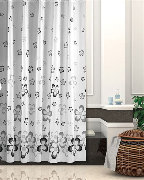Modern Extra Long Quality Fabric Shower Curtain 180cm X