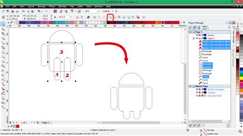 membuat id apple di android membuat logo android di coreldraw d art