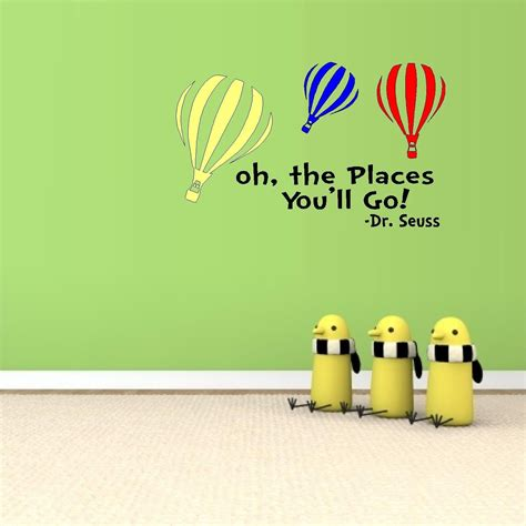 and the colored go oh the places you ll go with colored balloons dr seuss