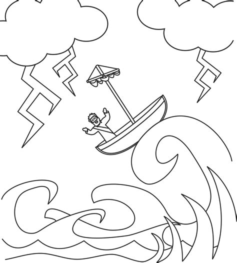 what color calms you jesus calms the coloring page printable coloring pages