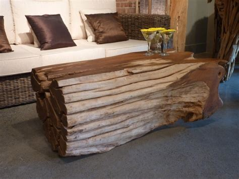 25 best ideas about log coffee table on log