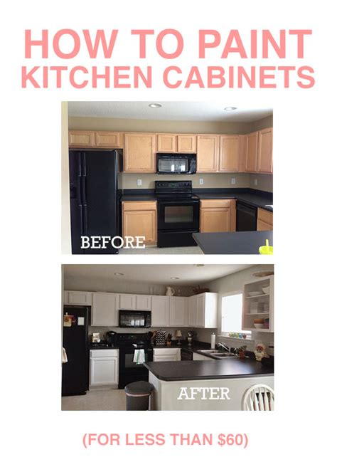 How To Paint Kitchen Cabinets How To Paint Kitchen Cabinets Home Decorating Diy