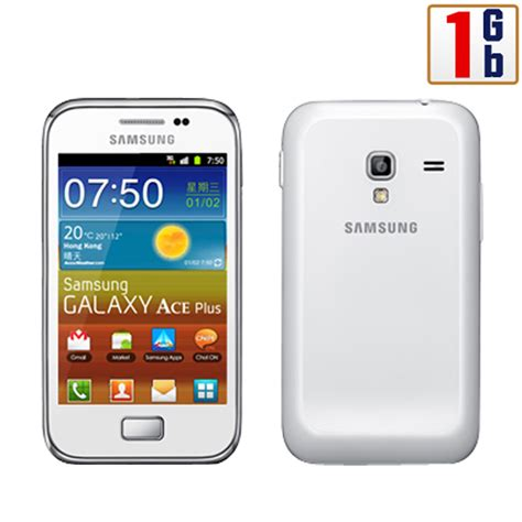 Hp Samsung Ace Plus S7500 new samsung galaxy ace plus s7500 1gb white wifi android touchscreen unlocked 3g ebay