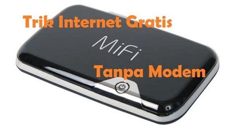 Modem Tanpa Kuota cara gratis tanpa modem simcard mifi wifi di komputer windows gageto gageto