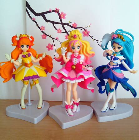 Pretty Cure Figure Set 3 go princess precure cutie figure set moeronpan