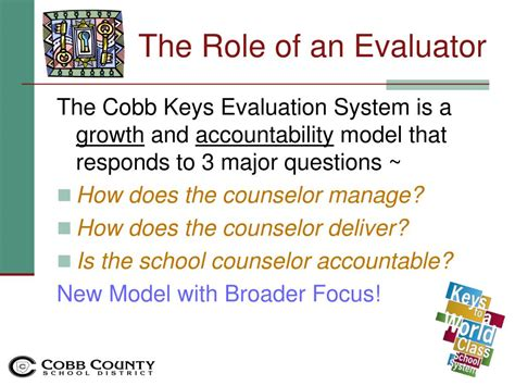 school counselor evaluation ppt evaluating school counselors sy11 12 powerpoint