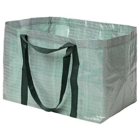 Tas Ikea ypperlig tas groot groen wit 71 l ikea