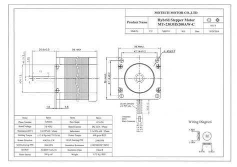 nema 23 stepper motor wiring diagram wiring diagram